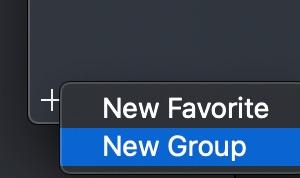 グループ追加の画像